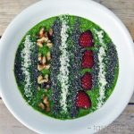low carb smoothie bowl