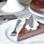 low carb chocolate cheesecake recipe