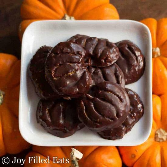 keto peanut butter pumpkins