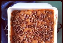 low carb sweet potato casserole