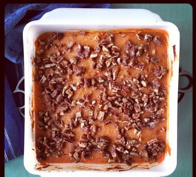 low carb sweet potato casserole