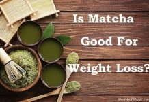 matcha green tea, weight loss