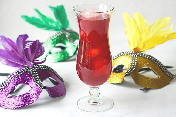 low carb mardi gras drink