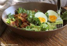 kale Ceasar salad