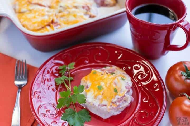 low carb tomato casserole