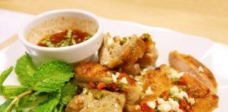 keto Thai grilled chicken