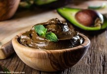 low carb chocolate avocado pudding