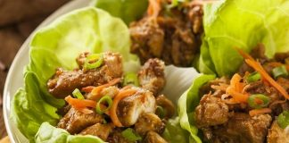 keto lettuce wraps