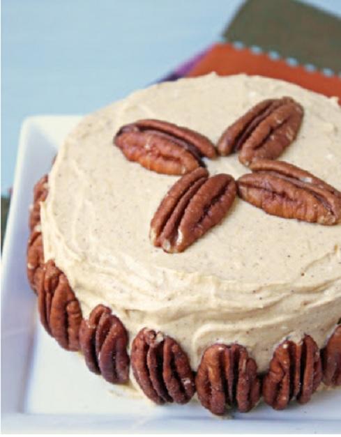low carb pumpkin crepe cake