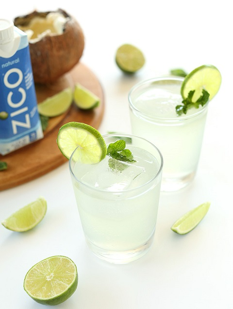 cococonut gin & tonic