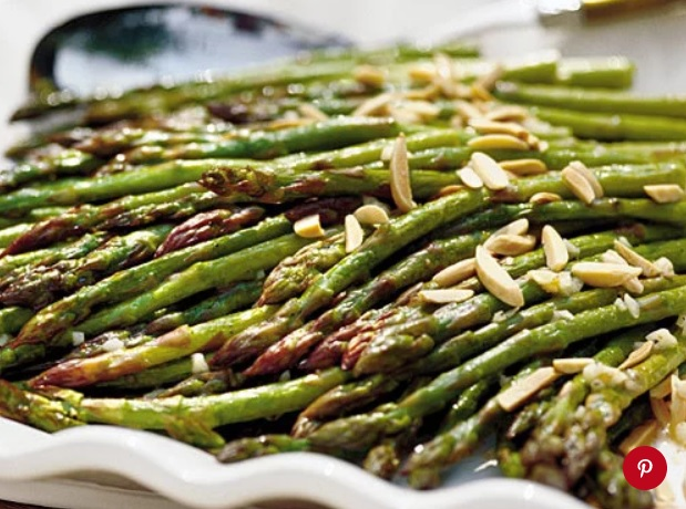 Low carb oven roasted asparagus