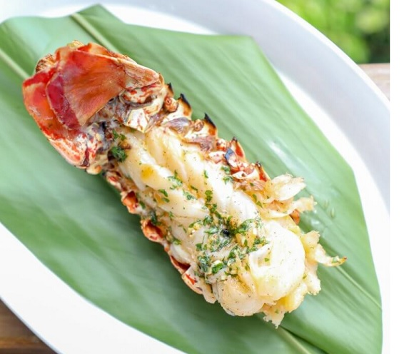 keto grilled lobster tails
