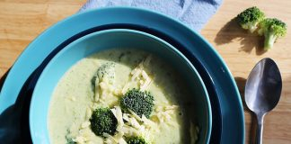 keto broccoli cheese soup