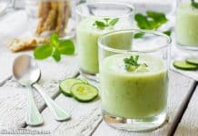 avocado soup - blender soup